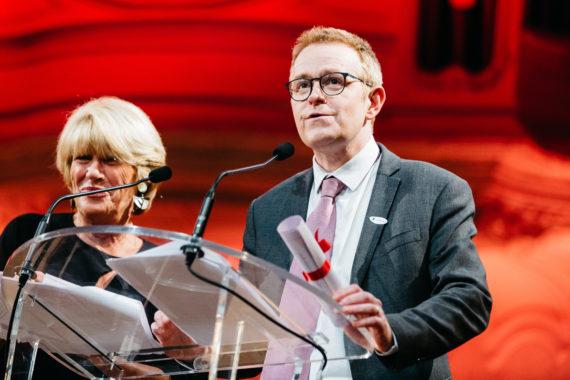 12ème gala de la Fondation du Rein à la Salle Gaveau à Paris le 7 mars 2018.