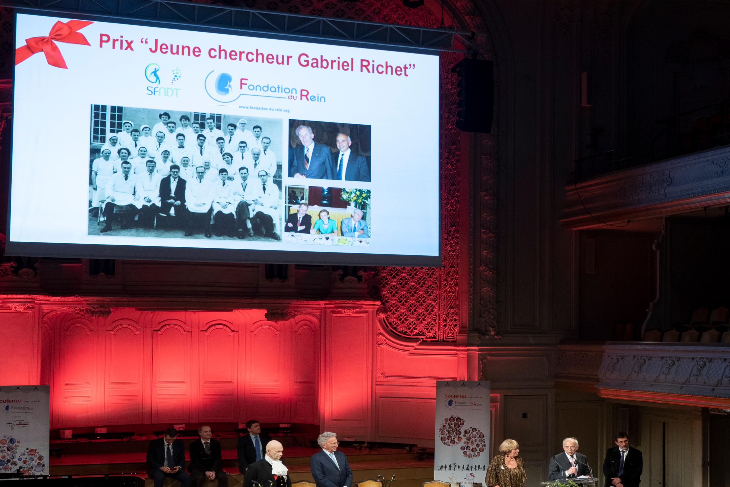 """Prix """"Jeune chercheur Gabriel Richet"""""""